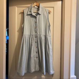 Bill Blass Denim Dress